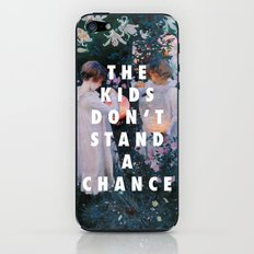 Lilies Don't Stand A Chance iPhone & iPod Skin