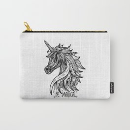 Mandala Unicorn Carry-All Pouch