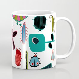 Insect watercolor white Coffee Mug