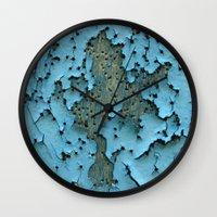 big bang Wall Clocks featuring Big Bang by aeolia