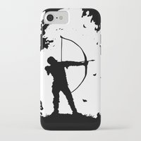 robin hood iPhone & iPod Cases featuring The Ballad Of Robin Hood by thehangingbadger