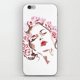 Flower girl iPhone Skin