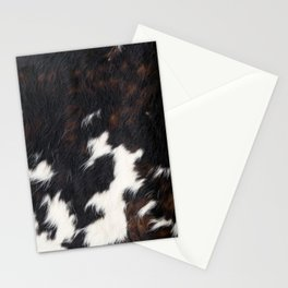 Cowhide Texture Stationery Cards