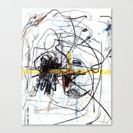 Scribe Canvas Print