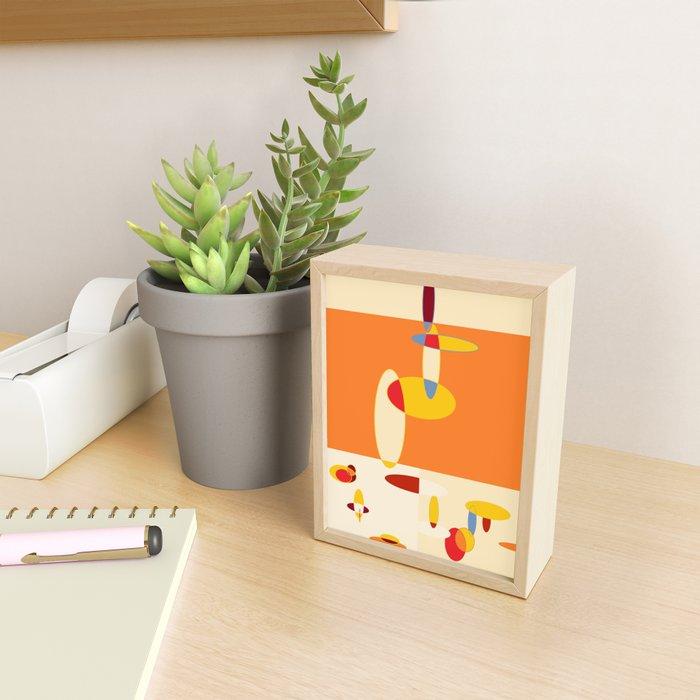 The Goose Framed Mini Art Print