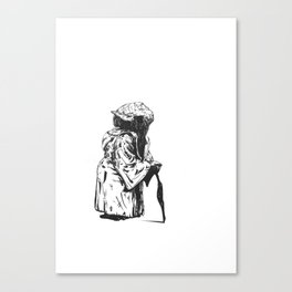 Short Yoda is Canvas Print