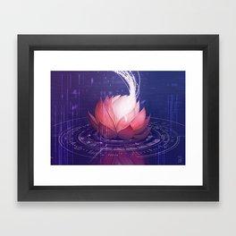 Netrunner - Self Modifying Code Framed Art Print
