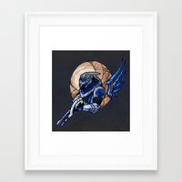 garrus Framed Art Prints featuring Garrus by Talianora