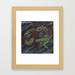 Chase you to Infinity Framed Art Print
