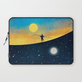 The Tightrope Walker G Laptop Sleeve