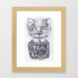 LA CREEPAH Framed Art Print