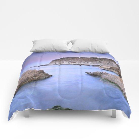"""""""Blue Volcano"""" Comforters"""