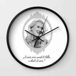 Madeline Ashton- Death Becomes Her/ Meryl Streep Wall Clock
