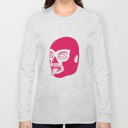Pink Luchador Long Sleeve T-shirt