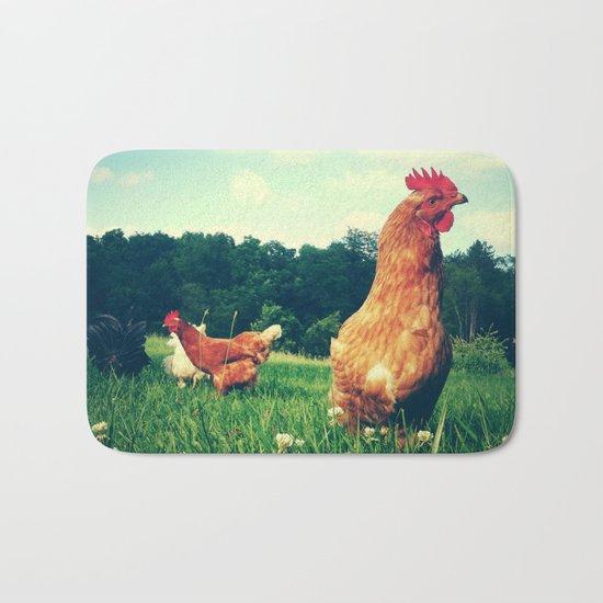 The Life of a Chicken Bath Mat