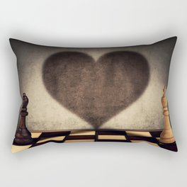 the impossible relationship Rectangular Pillow