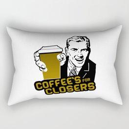 COFFEE'S FOR CLOSER Rectangular Pillow