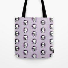 Edgar Allan Poe-ka Dots Tote Bag