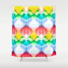 Crystal Rainbow Shower Curtain