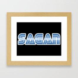 Sagan Framed Art Print