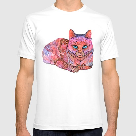 SUNSET CAT T-shirt