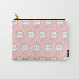 Pink yet still Hardy Carry-All Pouch