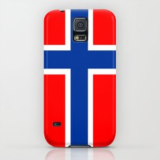 Norway country flag Galaxy S5 Slim Case