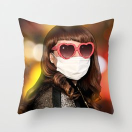 Tatemae Throw Pillow