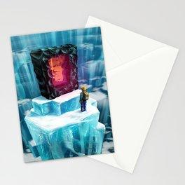Mine craft sword Stationery Cards