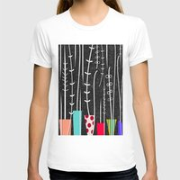plants T-shirts featuring Wild Plants by Danny Ivan