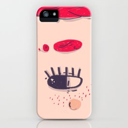 red head girl iPhone Case