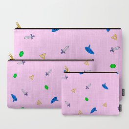 Legend of Zelda Pastel Print Carry-All Pouch