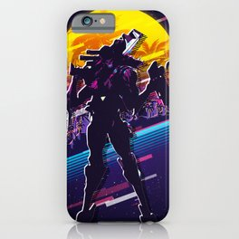 Jhin league of legends game 80s palm vintage iPhone Case