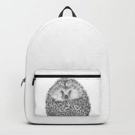 Black and White Hedgehog Backpack