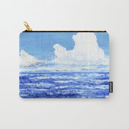 Infinite blue Carry-All Pouch