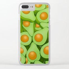 Sweet millennial butter Clear iPhone Case