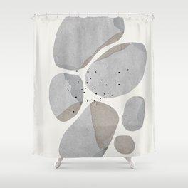 Abstract Desert Stones Shower Curtain