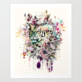 Interpretation of a dream - Tiger Art Print