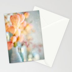 Chinese Lantern Pods and Candlelight Still Life Painterly Stationery Cards