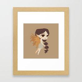 Autumn Fairy Framed Art Print