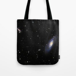 Spiral Galaxy M106 Tote Bag