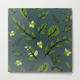 Flower Design Series 8 Metal Print