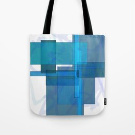 Squares combined no. 1 Tote Bag