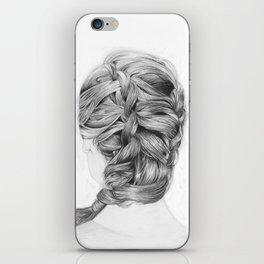 French Braid iPhone Skin