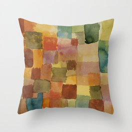 """Paul Klee """"Untitled 1914a"""" Throw Pillow"""