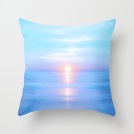 Sea of Love III Throw Pillow