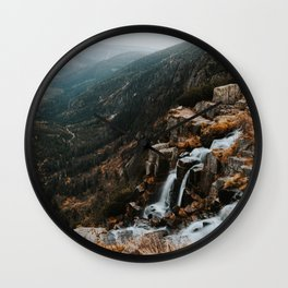 Autumn falls - Landscape and Nature Photography Wall Clock