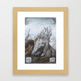 Menhir 4 Framed Art Print