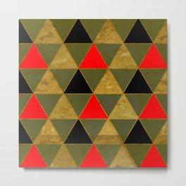 Abstract #481 Metal Print