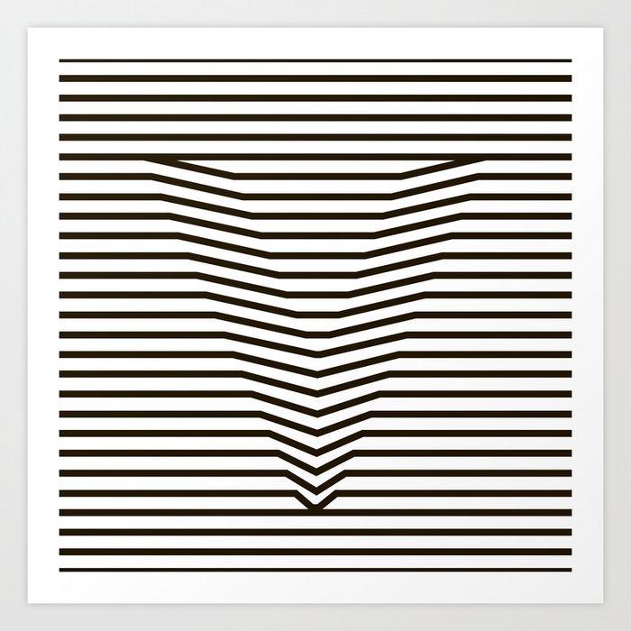 optical illusion Kunstdrucke